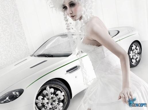 GenCept.com | Aston Martin V8 Vantaga Blanc de Blancs