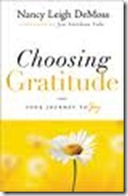 choosing gratitude book picture
