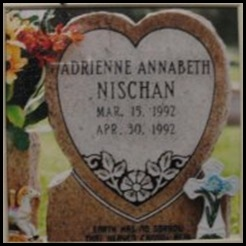 adrienne's tombstone