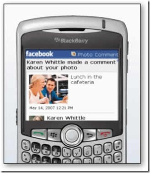 phone on facebook