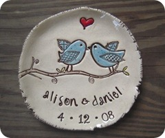 tweetheart plate