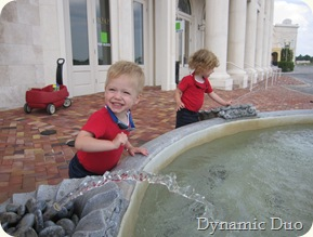 fountain fun - gus great smile