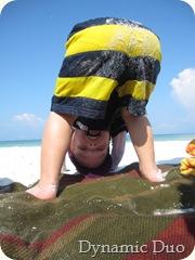 gus beach yoga