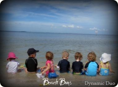 beach bums! 6.26