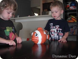 fishie bank time