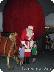 santa at the north pole via the polar express (2)