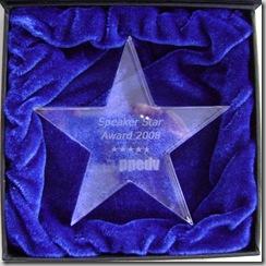 Speaker Star Award 2008