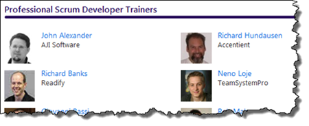 Neno Loje now is a Professional Scrum Developer Trainer
