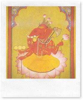 Ganesha bekend over de hele wereld.