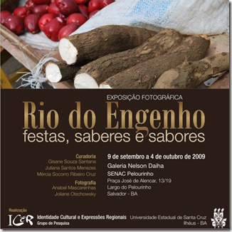 Convite - Rio do Engenho, festas, saberes e sabores 4