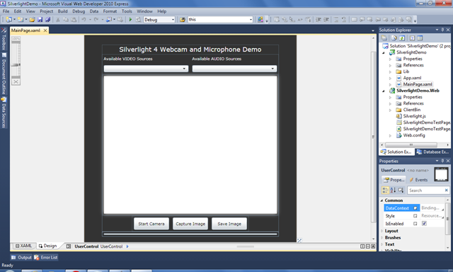 Silverlight Designer