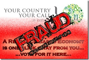 Vote for a RBE Fraud  by Factual Solutions