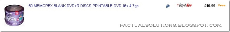 50 Blank DVDs