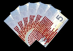 5 Canadian Dollars ZNote Bills  by Factual Solutions