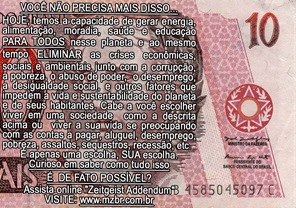 Brazilian  ZBank Note - 10 Bill Note - Version by Factual Solutions