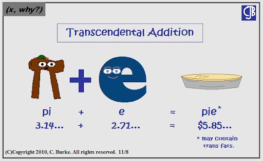 X  Why    Transcendental Addition