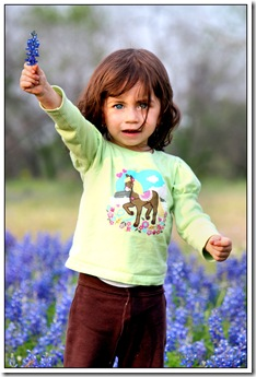 Bluebonnet Fun – Camila