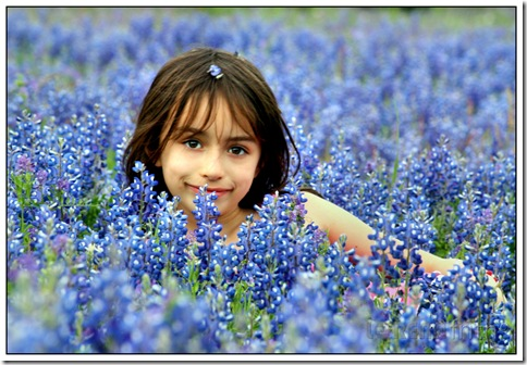 Bluebonnet Fun – Sophia