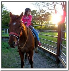 My Big Girl Horse Rider