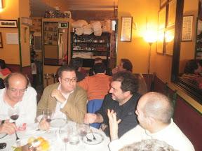 Acisclo, Fran (el Topo), Pepe y Moríñigo