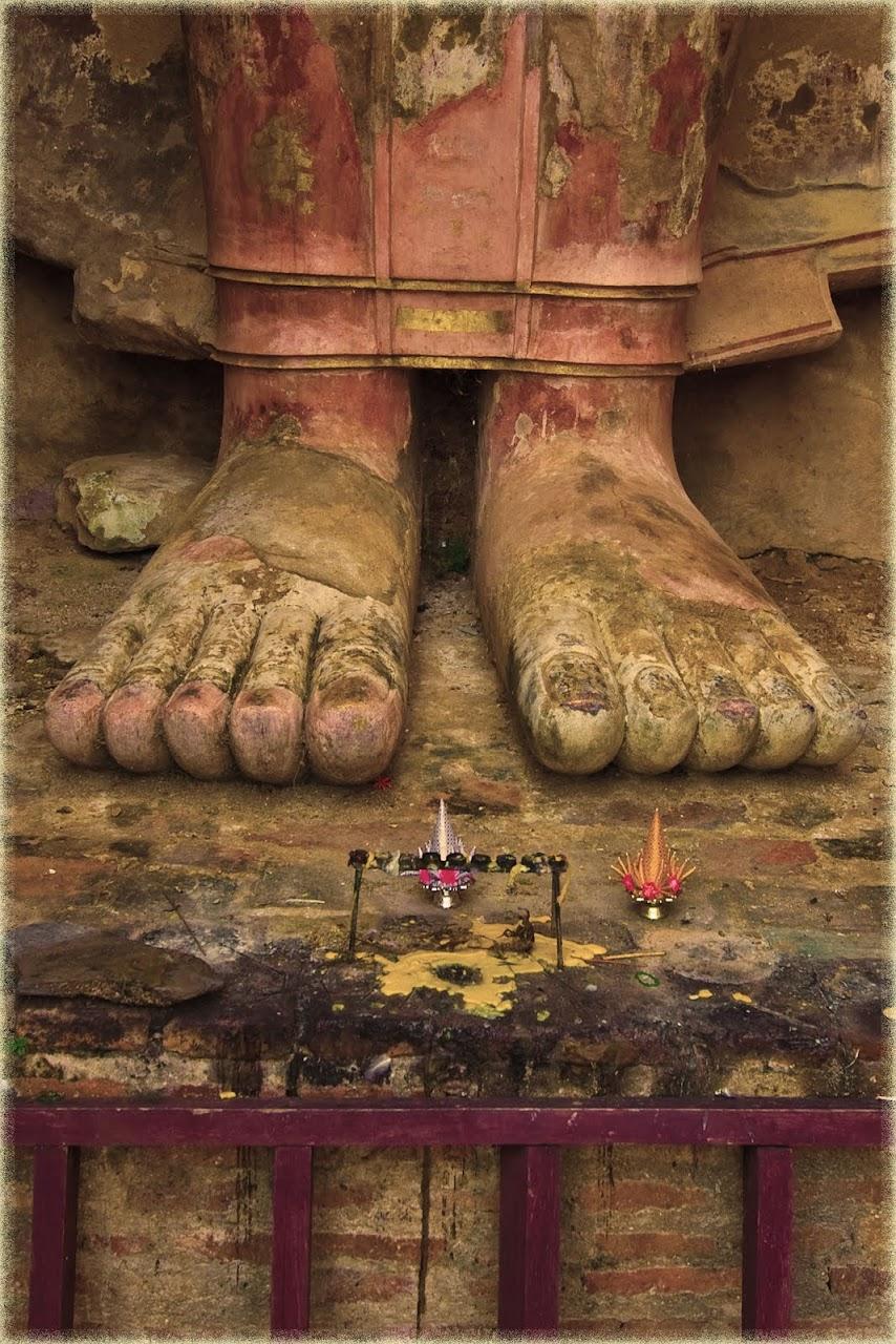 Buddha feet at Sukhothai