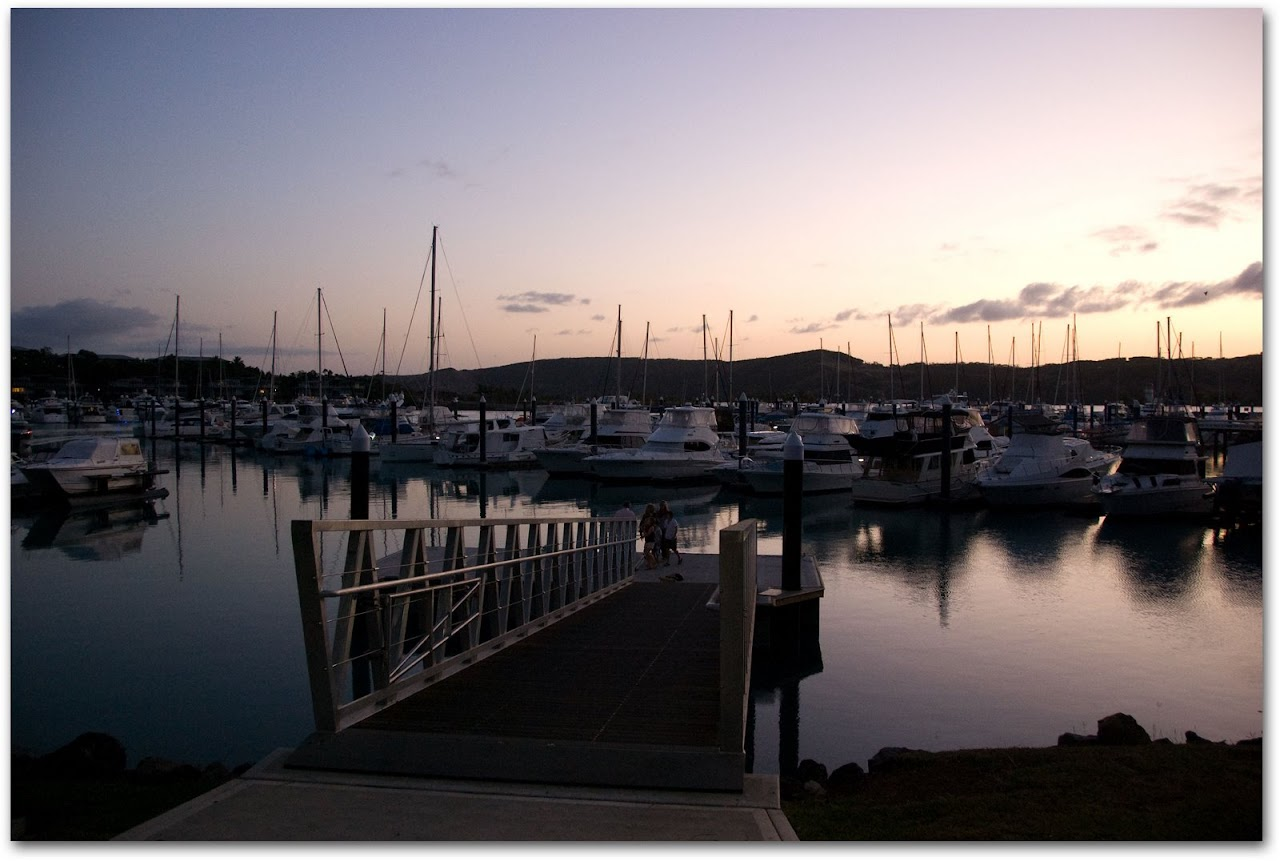 Sunset at the Marina, Hamilton Island