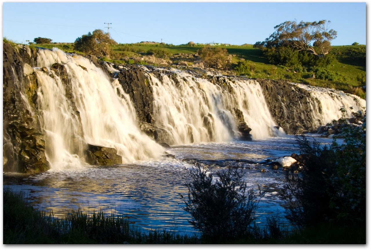 Waterfall near Warnambool