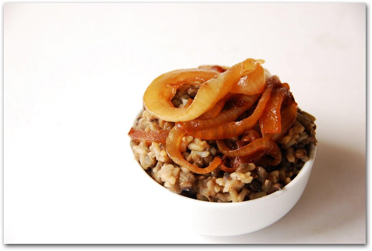 mujadara | The Road Forks - Travel and Food Blog