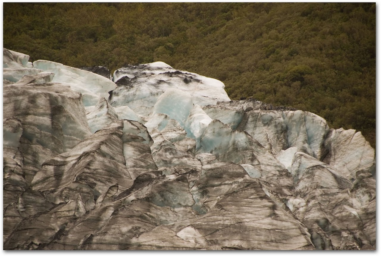 Ice from Fox Glacier