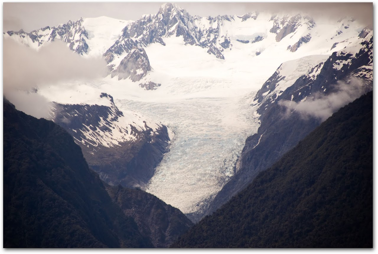 Fox Glacier from afar