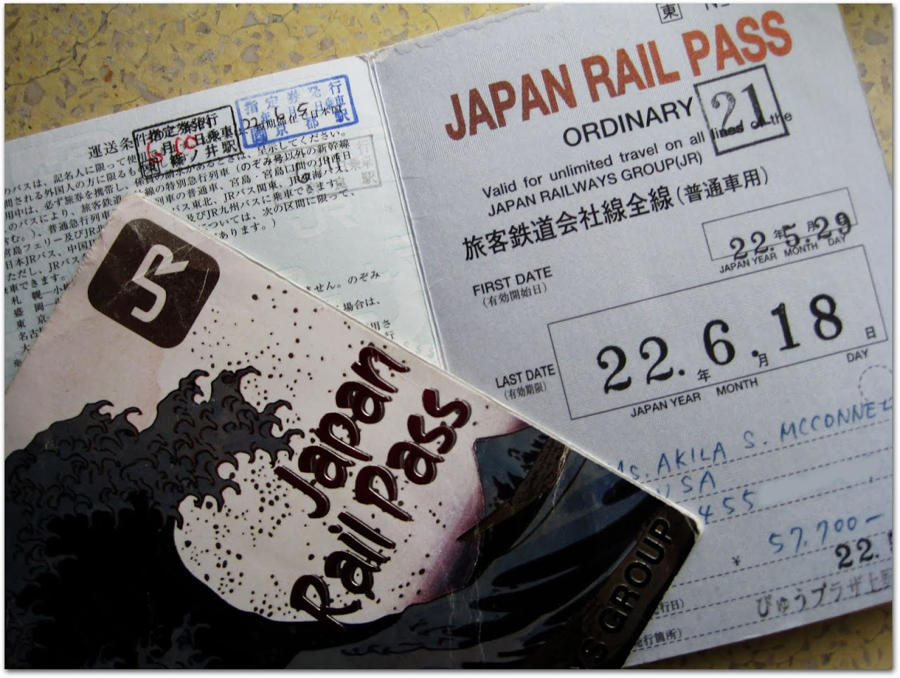Japan Rail Pass
