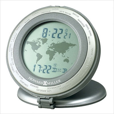 World travel clock