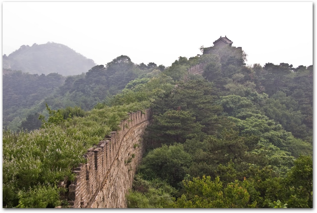 Unrestored portion of Mutianyu, Great Wall