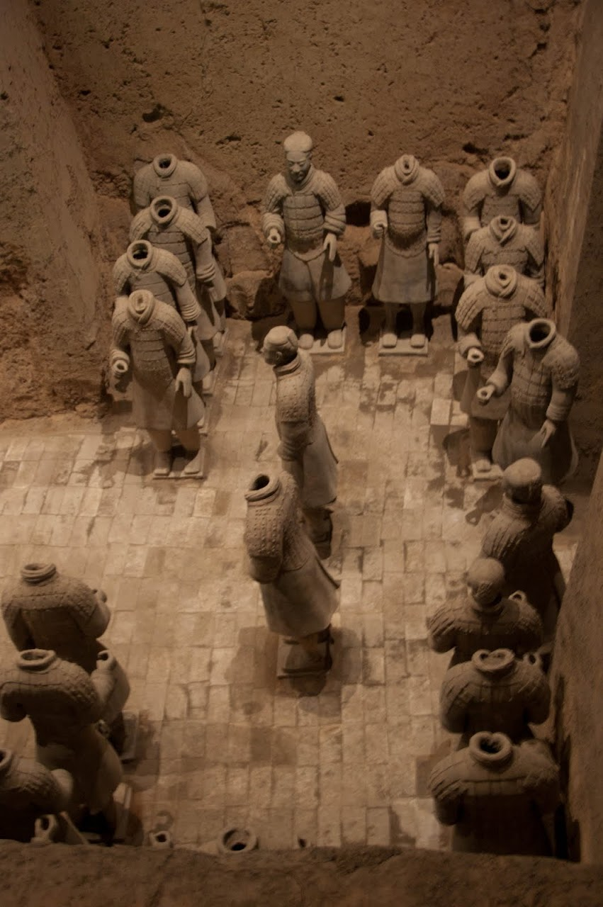 Terracotta soldiers Pit 2