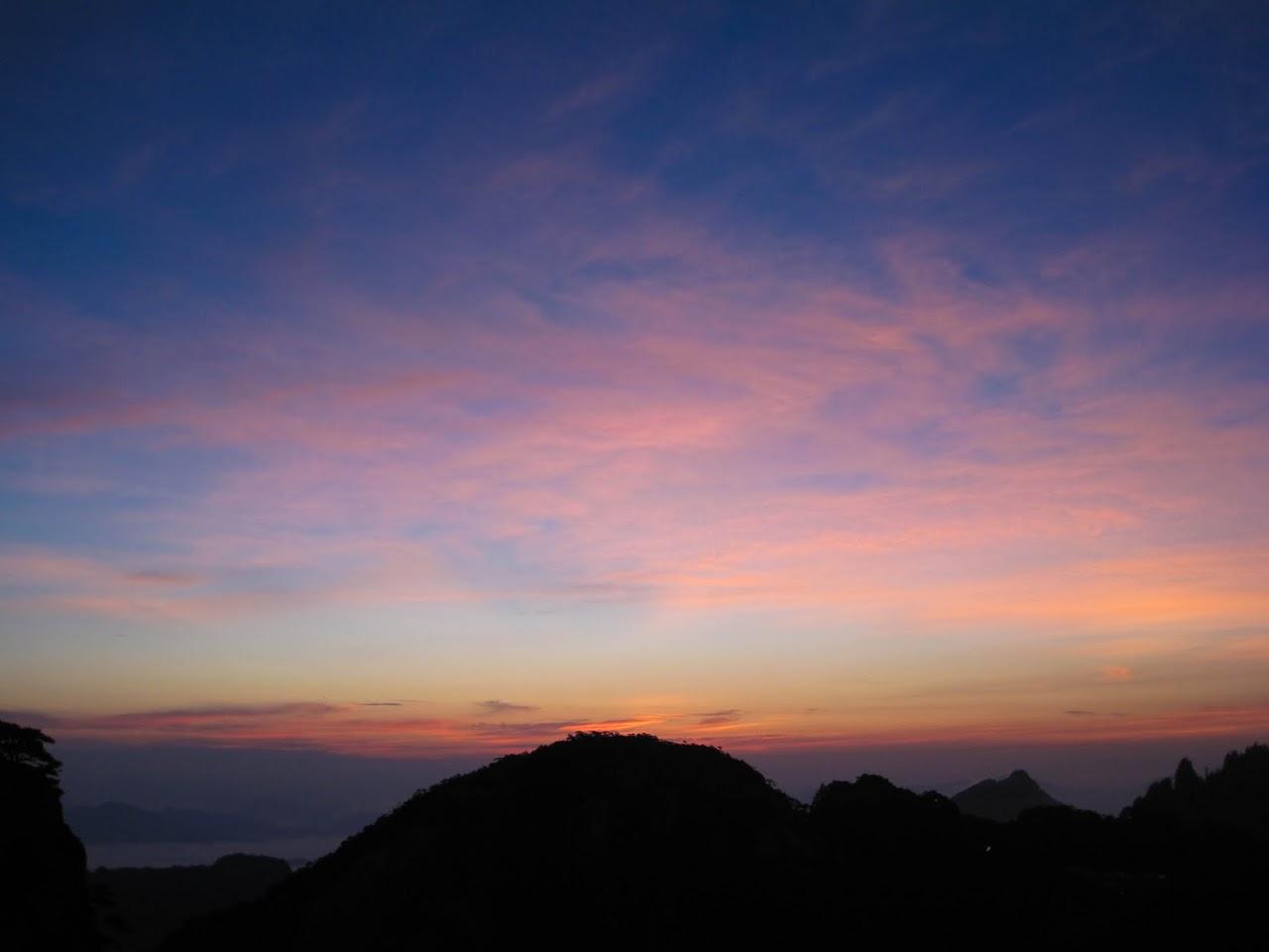Huang Shan sunrise