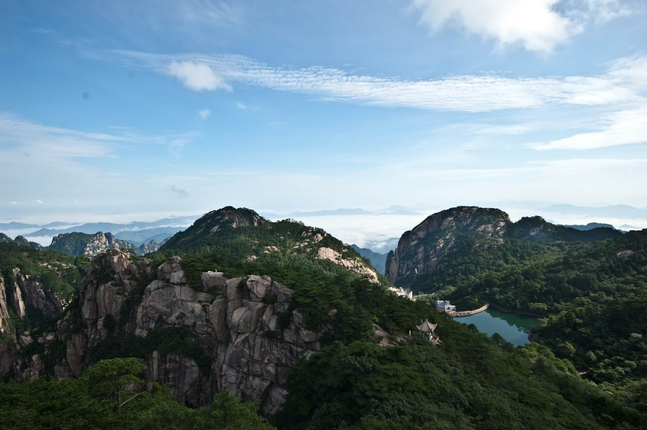 Huang Shan mountains