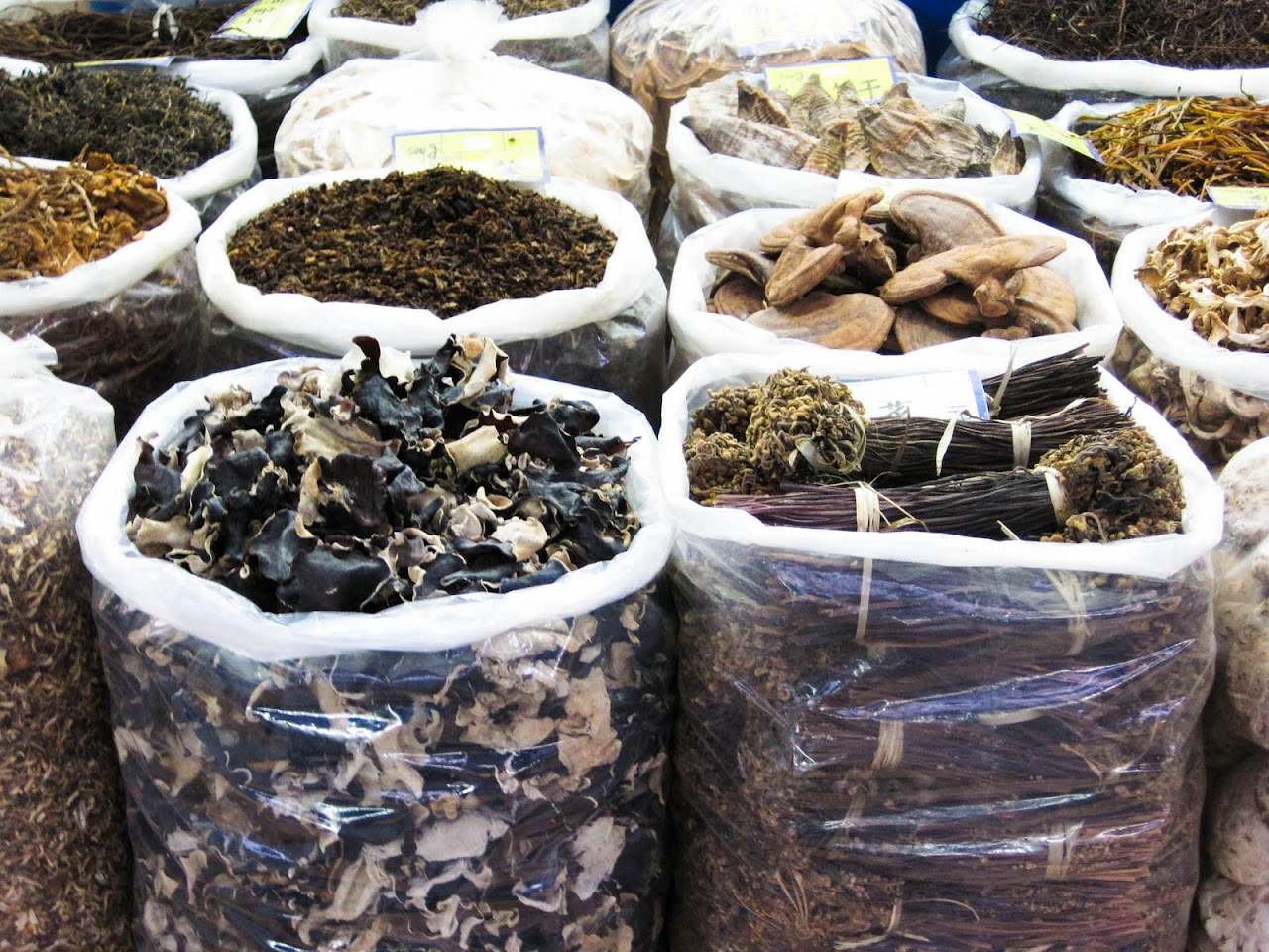 Spices at Chinese market