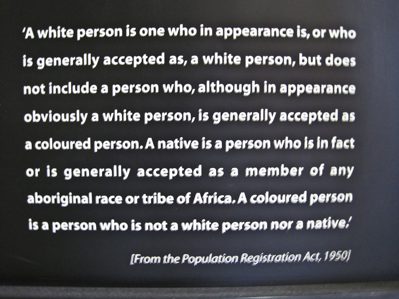 Definition of race