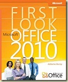 "Page de garde de l'ouvrage ""First Look Microsoft Office 2010"""