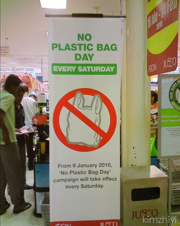 No Plastic Bag Day