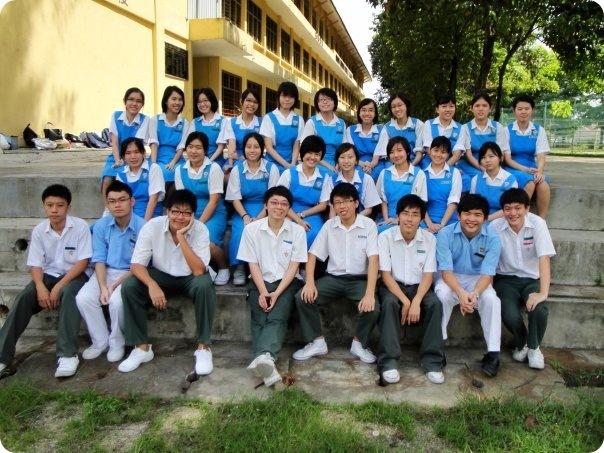 6M classmates. Late day of SPM