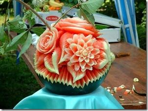 watermelon flowers