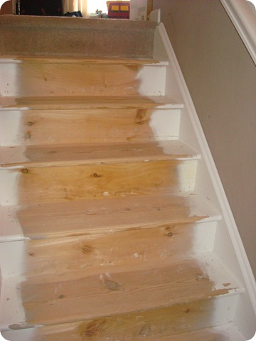 Many Of You Have Asked If I Did Anything To The Steps U2013 Put Any Wood On  Them, Etc. The Steps Were Just As You See Them Here When I Pulled Up The  Carpet.