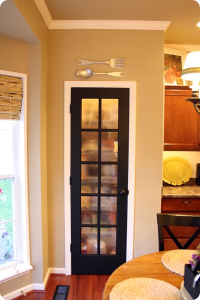 pantry with fork and spoon