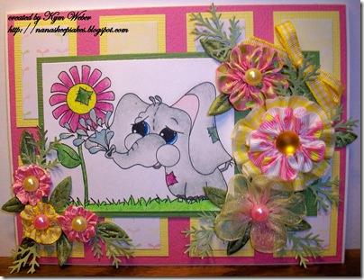 Eris Watering Flowers