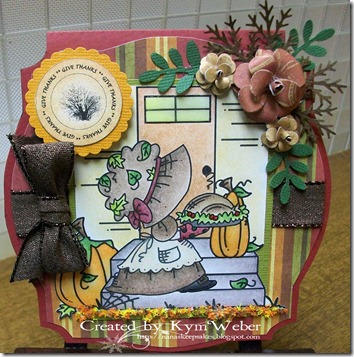 Fancy Sunbonnet Thanksgiving1