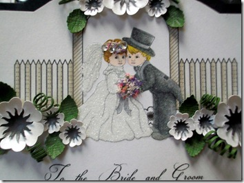 Wedding Cake Easel Card1