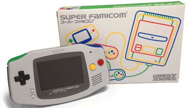 SNES and Super Famicom themed GameBoy Advances coming soon