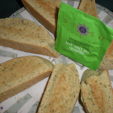 Lemon, Cardamom, Green Tea Biscotti