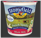 stonyfield whole milk
